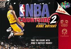 NBA Courtside 2 Kobe Bryant (N64)