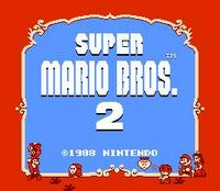 Super Mario Brothers 2 (NES)