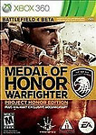 Medal of Honor Warfighter Project Honor Edition (Xbox 360)