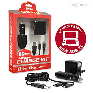 3DS XL/ 3DS/ DSi XL/ DSi/ DS Lite Universal Charge Kit