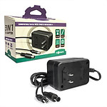 3-in-1 Universal AC Adapter for Genesis 1 / SNES / NES