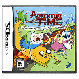 Adventure Time: Hey Ice King! Why'd You Steal Our Garbage (DS)