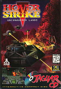 Hover Strike: Unconquered Lands (CD) (Atari Jaguar)