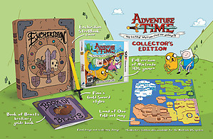 Adventure Time: Hey Ice King Collector's Edition (3DS)