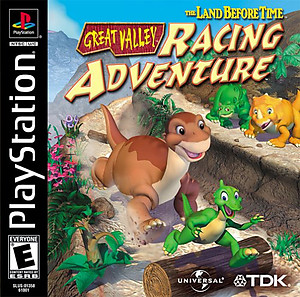 Land Before Time: Great Valley Racing Adventure (PSX)