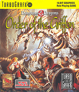Order of the Griffon (Turbo Grafx 16)