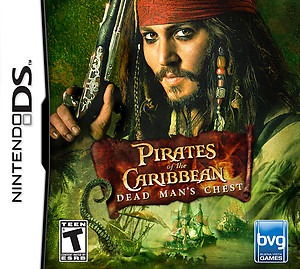 Pirates of the Caribbean Dead Man's Chest (DS)