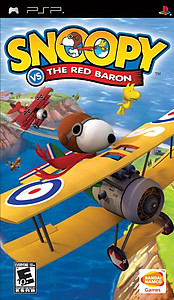 Snoopy vs. the Red Baron (Sony PSP)