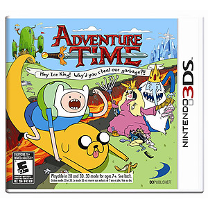 Adventure Time: Hey Ice King (3DS)