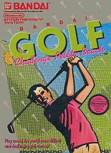 Bandai Golf Challenge Pebble Beach(NES)