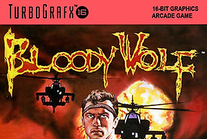 Bloody Wolf (Turbo Grafx 16)