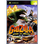 Godzilla Destroy All Monsters (Xbox)