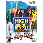 High School Musical Sing It! (Nintendo Wii)