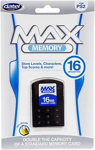Max Memory 16Mb Memory Card (PS2)
