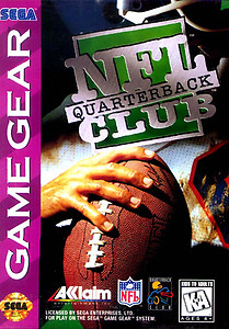 NFL Quarterback Club (Sega Game Gear)