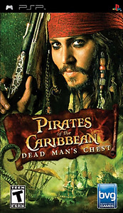 Pirates of the Caribbean Dead Man's Chest (PSP)