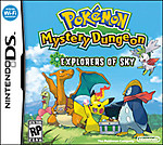Pokemon Mystery Dungeon Explorers Sky (DS)