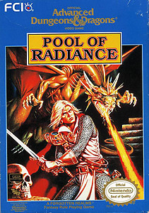 Advanced Dungeons and Dragons Pool of Radiance (NES)