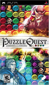 Puzzle Quest Challenge of the Warlords (Sony PSP)