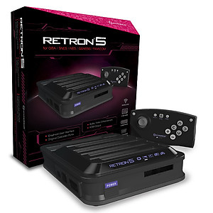 Retron 5 SNES, Genesis, NES and GBA