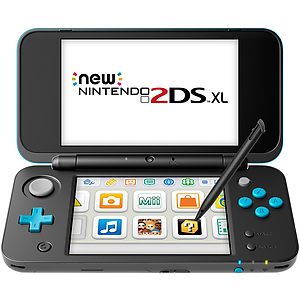 New Nintendo 2DS XL (Black + Turquoise) - BY NINTENDO