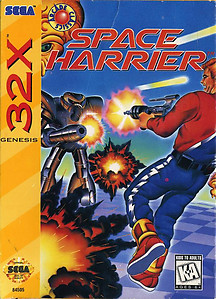 Space Harrier 32X (Sega 32X)