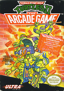 Teenage Mutant Ninja Turtles 2 (NES)
