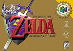 Zelda Ocarina of Time (N64)