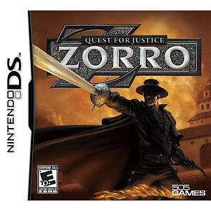 Zorro Quest for Justice (DS)
