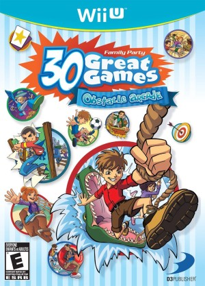Family Party 30 Great Games: Obstacle Arcade (Wii U)