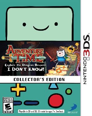 Adventure Time Dungeon I Don't Know Collectors (3DS)