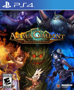 ArmaGallant: Decks of Destiny (PS4)