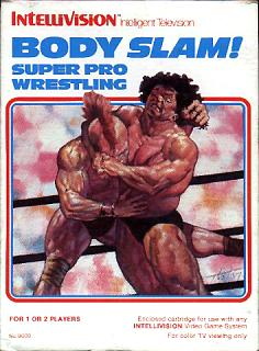 Body Slam Super Pro Wrestling (Intellivision)