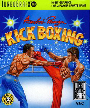 Andre Panza Kick Boxing (Turbo Grafx 16)