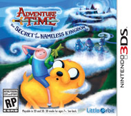 Adventure Time: The Secret of the Nameless Kingdom (3DS)