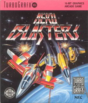 Aero Blasters (Turbo Grafx 16)