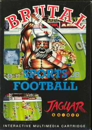 Brutal Sports Football (Atari Jaguar)