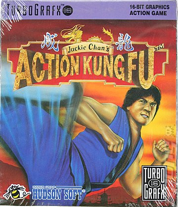 Jackie Chan's Action Kung Fu (Turbo Grafx 16)