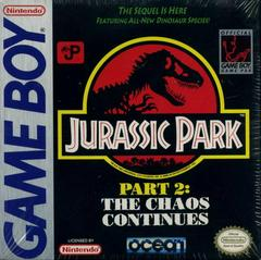 Jurassic Park 2 The Chaos Continues (Gameboy)