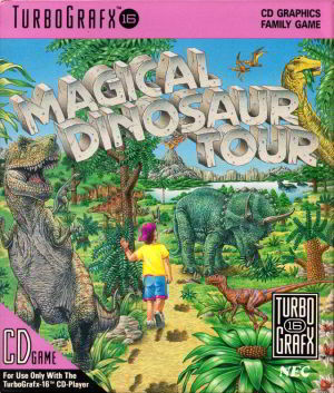 Magical Dinosaur Tour (Turbo Grafx 16)
