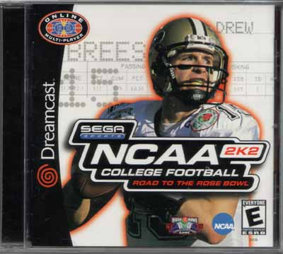NCAA College Football 2K2 (Dreamcast)