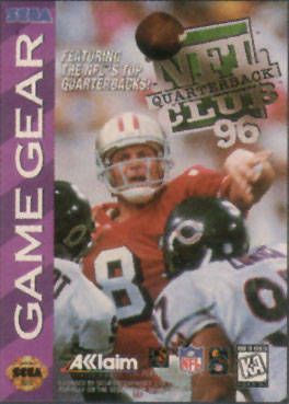 NFL Quarterback Club '96 (Game Gear)