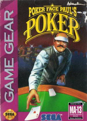 Poker Face Paul's Poker (Game Gear)