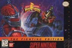 Power Rangers The Fighting Edition (SNES)