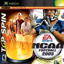 Top Spin / NCAA Football 2005 (Xbox)
