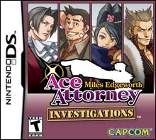 Ace Attorney Investigations: Miles Edgeworth (NDS)