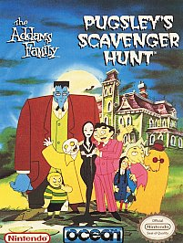 Addams Family Pugsley's Scavenger Hunt (NES)