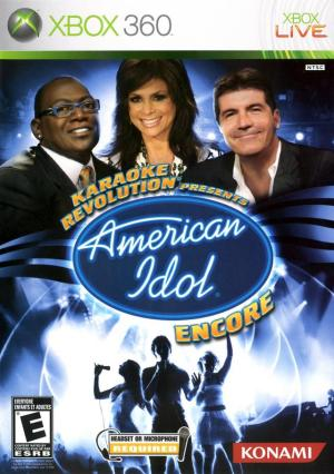 American Idol Encore (game only) (Xbox 360)