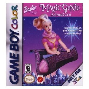 Barbie Magic Genie Adventure (Gameboy Color)