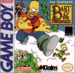 Simpsons: Bart and the Beanstalk (Gameboy)